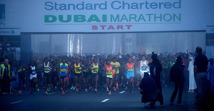 Dubai Marathon (fot. materiały prasowe organizatora)