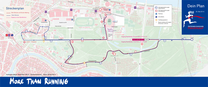 Trasa biegów oraz nordic walking
