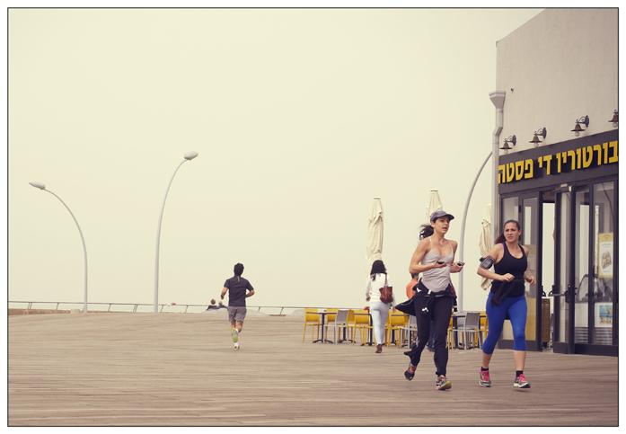 W Tel Avivie biegają prawie wszyscy...