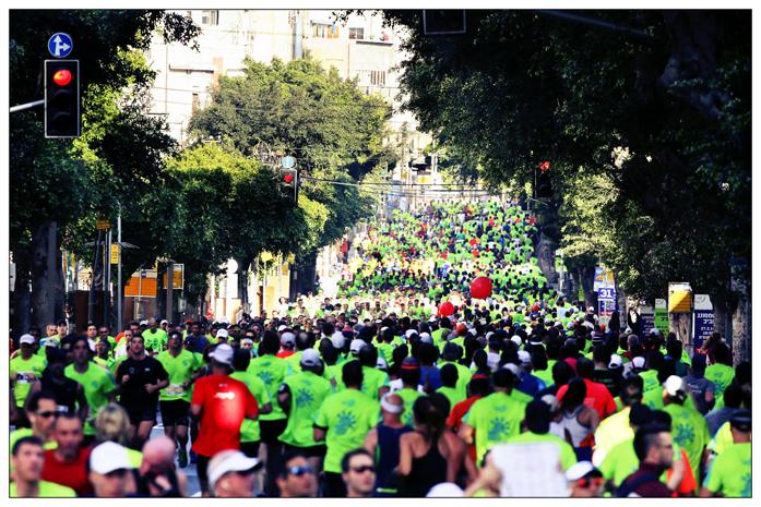 Tel Aviv Samsung Marathon 2014 (fot. Ronen Topelberg)