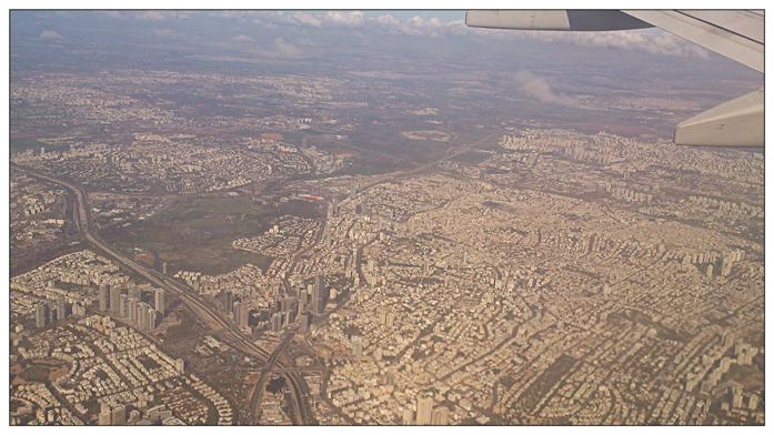 Tel Aviv z lotu ptaka
