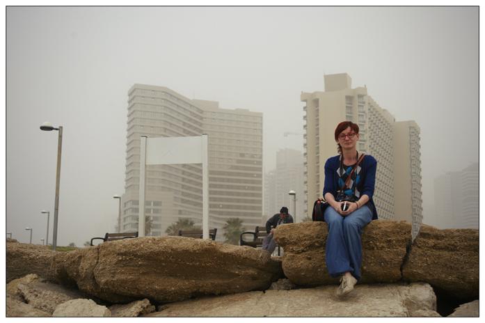 Tel Aviv w klimacie burzy pustynnej