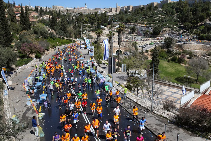 Jerusalem Marathon 2014 (fot. materiały prasowe organizatora)