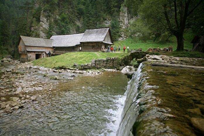 Slowacja, Liptow, Kwaczanska Dolina -Skansen maszyn wodnych (fot. materiały organizatora)