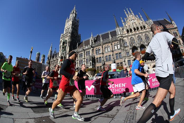 (fot. Norbert Wilhelmi - München Marathon 2014)