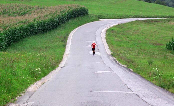 Ultramaraton - 120 km (fot. Anže Česen)