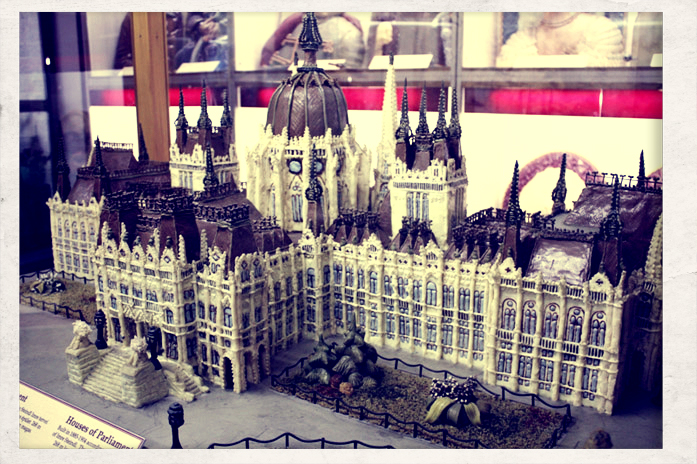 Parlament z marcepanu. Muzeum Marcepanu