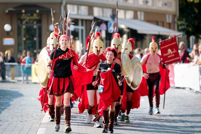 Spartanie, czyli polski akcent w Wilnie fot. Danske Bank Vilnius Marathon