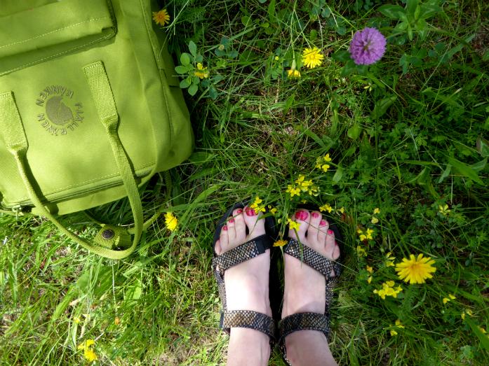 Sandały Teva na spacerze :)