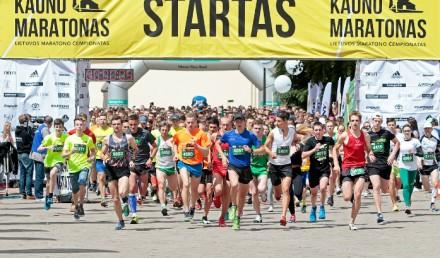 Kauno Maratonas 2016 / fot. Augustas Didžgalvis