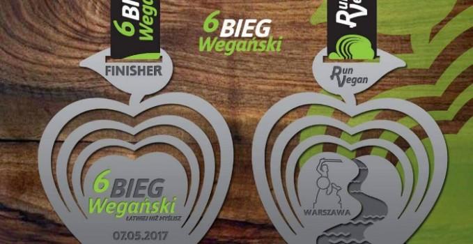 6 Bieg Weganski medal