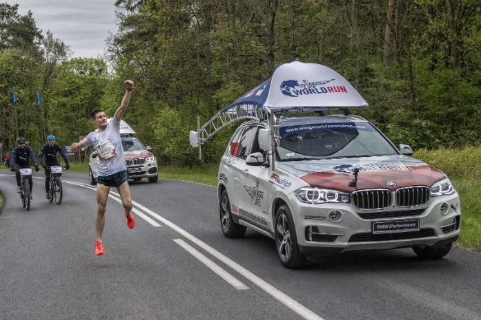 Zwycięzca Tomasz Walerowicz / fot. Łukasz Nazdraczew / Poznań/ Polska