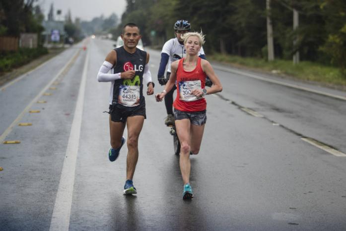 Manuelito Figueroa /Peru/ oraz Dominika Stelmach / fot. Gustavo Cherro