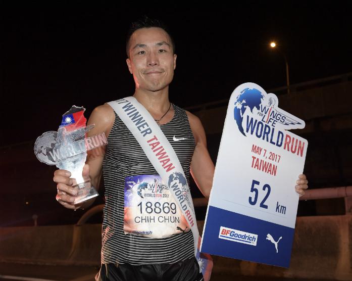 Zwycięzca Chin Chun Li / fot. Victor Fraile / Tainan /Tajwan
