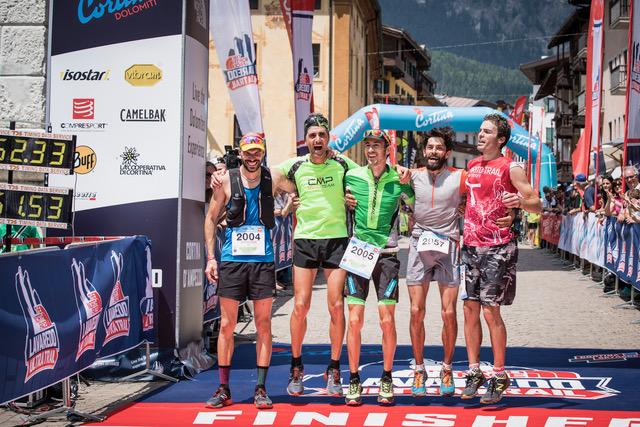 Top Mężczyźni / Cortina Trail 2017 / fot. The North Face Lavaredo Ultra Trail