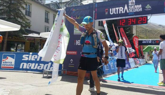 Juan Perez Torreglosa - zwycięzca Trail Sierra Nevada 62 km / fot. Andrzej Gałązka
