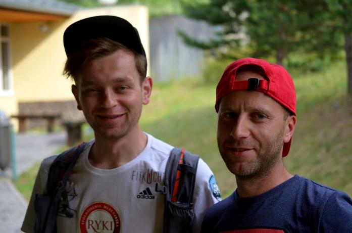 Łukasz Zdanowski i Przemek Barnowski