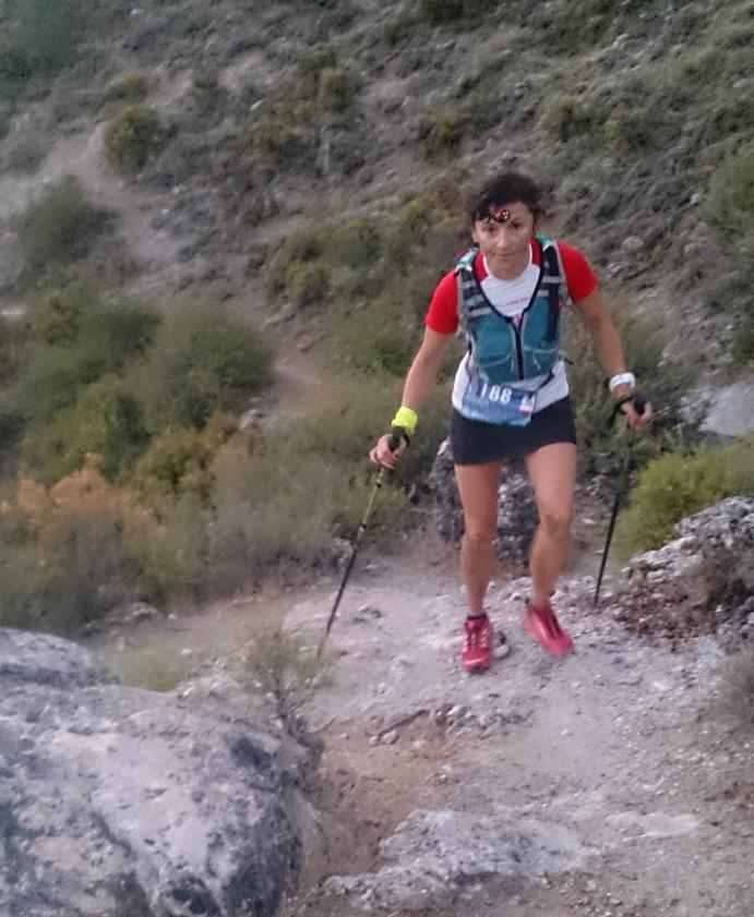 Natalia Haczyk na trasie Ultra Sierra Nevada / fot. archiwum prywatne