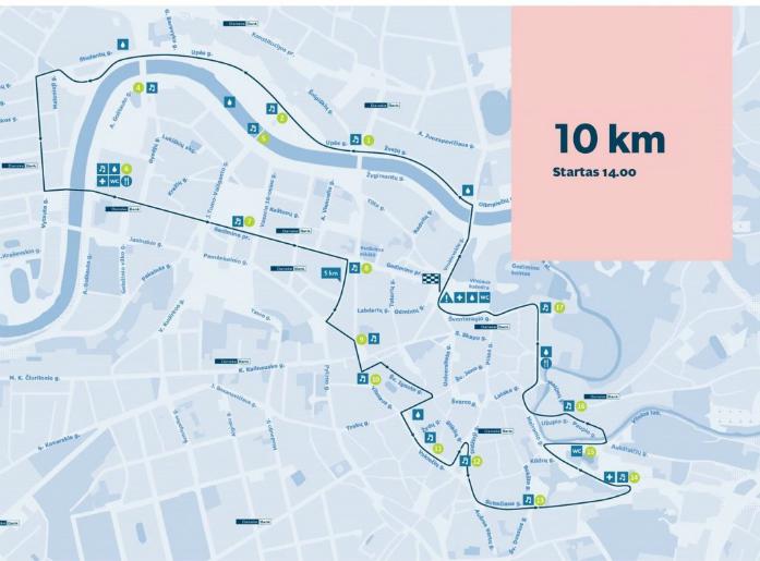 trasa biegu 10 km