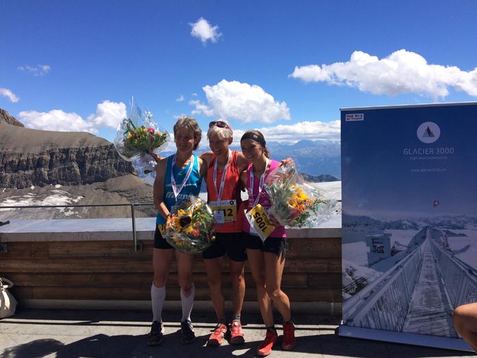 Od lewej: Corine Zeller, Andrea Hauser i Natalia Tomasiak