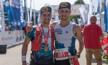 Miłosz Szcześniewski i Bartosz Gorczyca - zawodnicy Salco Garmin Team