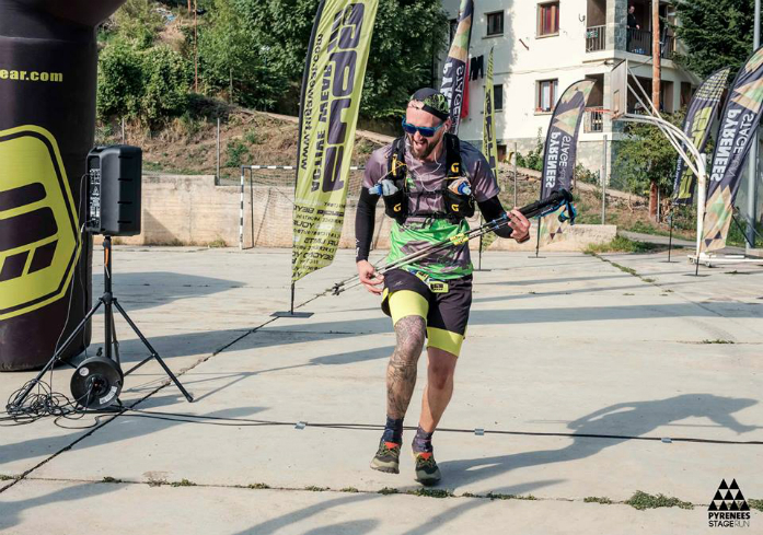 Mieczysław Król / Pyrenees Stage Run 2017 / fot. Jordi Santacana