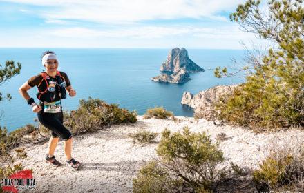 Natalia Haczyk na trasie Trail Ibiza