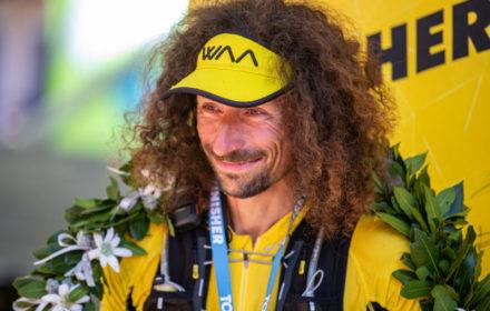 Luca Papi / zwycięzca Tor des Glaciers / fot. Roberto Roux