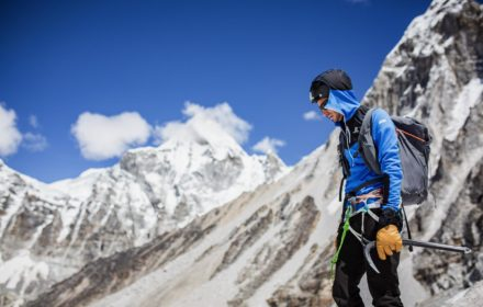 Kilian Jornet in the Himalayas in 2019 _Credit _ Philipp Reiter