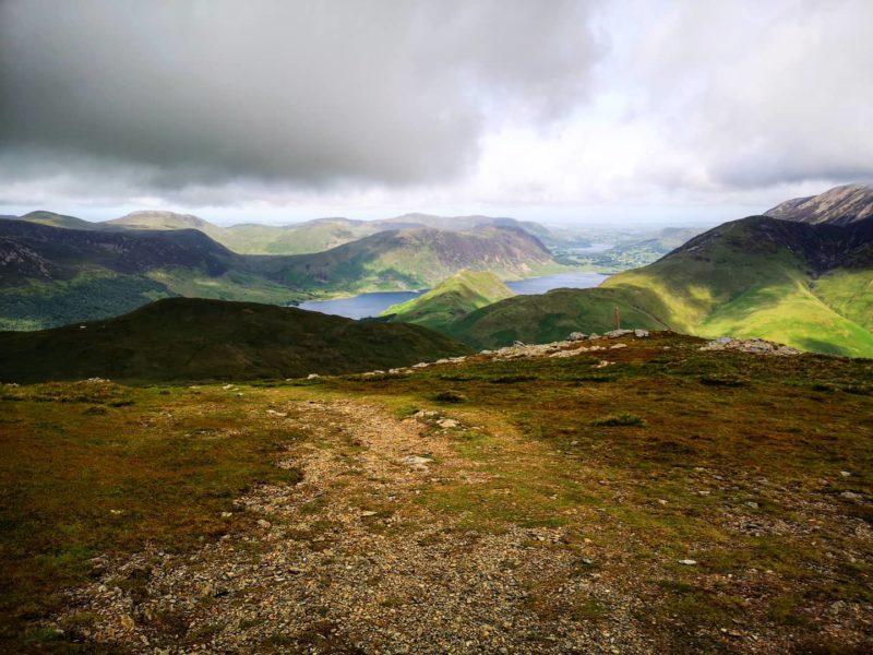 Na trasie Wainwright w Parku Narodowym Lake District / fot. Jacob Snochowski