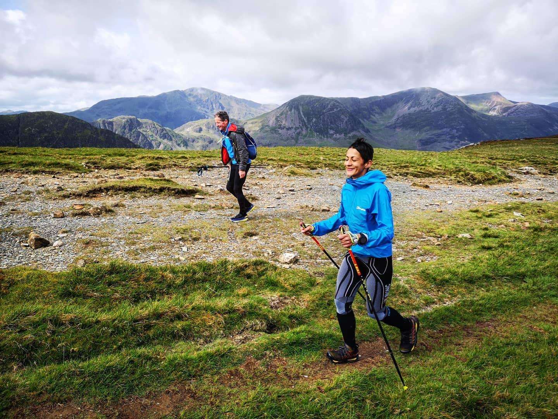 Sabrina Verjee na trasie Wainwright w Parku Narodowym Lake District / fot. Jacob Snochowski