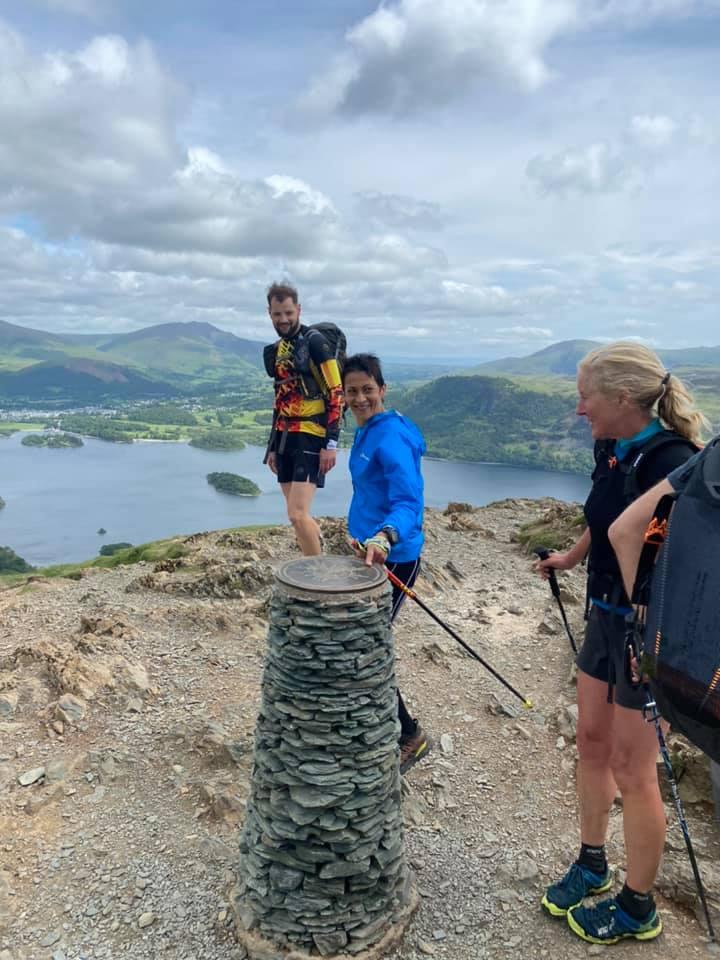 Sabrina Verjee i Jacob Snochowski na trasie Wainwright w Parku Narodowym Lake District / fot. Jacob Snochowski