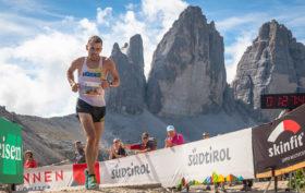 WMRA Andrew Douglas Drei Zinnen fotgo corsa in montagna